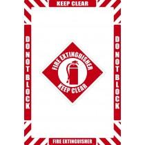Fire Extinguisher Floor Marking Kit