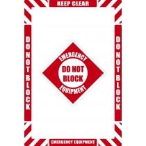 Emergency Equipment Floor Marking Kit