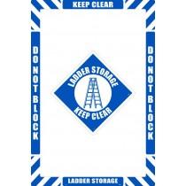 Ladder Storage Floor Marking Kit