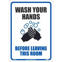 WASH YOUR HANDS BEFORE LEAVING THIS ROOM (#WH1RB)