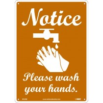 NOTICE PLEASE WASH YOUR HANDS (#WH3RB)