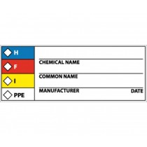 RTK Hazard Warning Label (#WOL9)