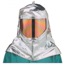 19oz. Aluminized Para Aramid Blend Wide View Hood (#WV-647-AKV)