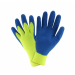 PosiGrip® Hi-Vis Seamless Knit Brushed Acrylic Glove with Latex Coated Crinkle Grip on Palm & Fingers  (#32L710)