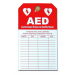 AED Inspection Tag (#DAC-801)