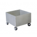 Four Wheel Cart for Eye/Face Wash Units (#S19-690A)